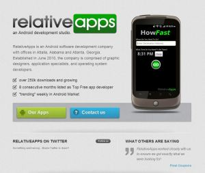 RelativeApps.com Screenshot