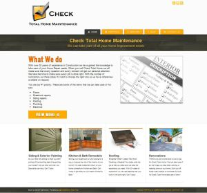 CheckTotalHome.com Screenshot